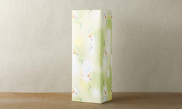 Liquid Tea 献上茶 静岡白葉茶 本山の包装画像