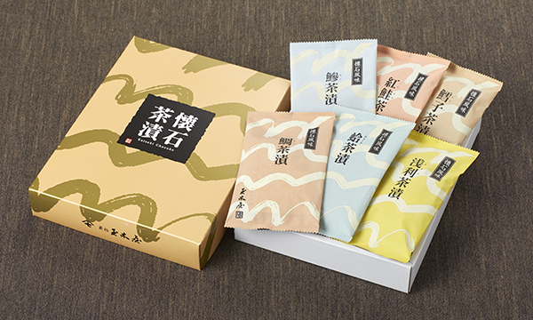 懐石茶漬C6の箱画像
