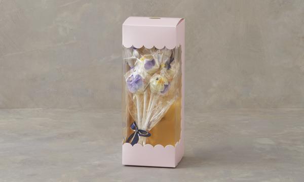 ポップケーキ お花ブーケの包装画像