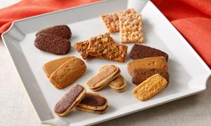 エルベランクッキーとティーフレンドクッキーの詰め合せ(10種入)34枚