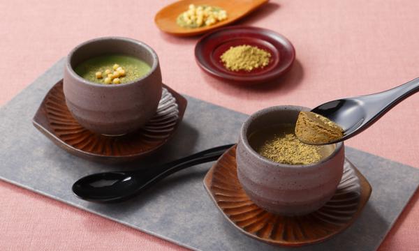 玄米茶とほうじ茶の生チョコレートの内容画像