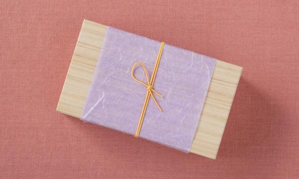 玄米茶とほうじ茶の生チョコレートの包装画像