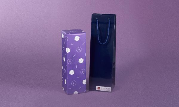 純米大吟醸じょっぱり華想いの紙袋画像