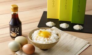 The北海道ファーム特選 卵かけごはんギフト