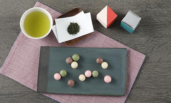 お茶とお菓子の詰合わせの内容画像