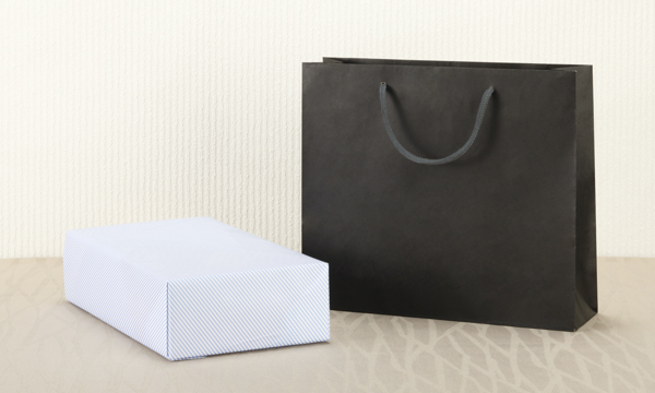 ルレクチェジュース 500ml×2本セット(果汁100%ストレートジュース)の紙袋画像