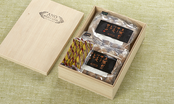 生ウィンナー 4種類 詰合せセットの箱画像