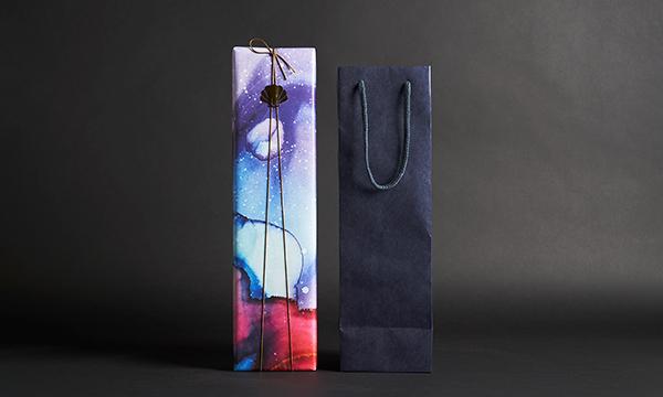 海底で熟成されたワイン SUBRINA サブリナ ACT2 2016の紙袋画像