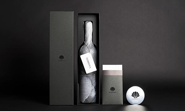 海底で熟成されたワイン SUBRINA サブリナ ACT3 2019の箱画像