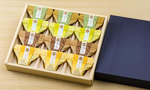 牧ノ原オリジナルお茶葛餅の箱画像