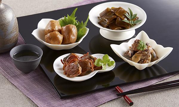 三陸甘茶煮4種セットの内容画像