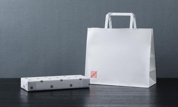 松屋利右衛門 鶏卵素麺 たばねの紙袋画像