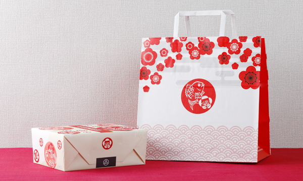 紀州梅真鯛梅 六個入の紙袋画像