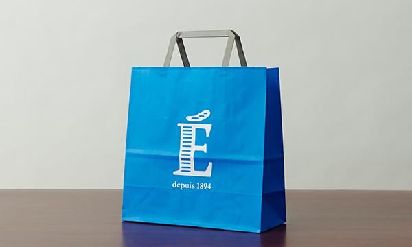 サブレ・エシレ ガレット・エシレ2缶セット(スリーブ付き)の紙袋画像