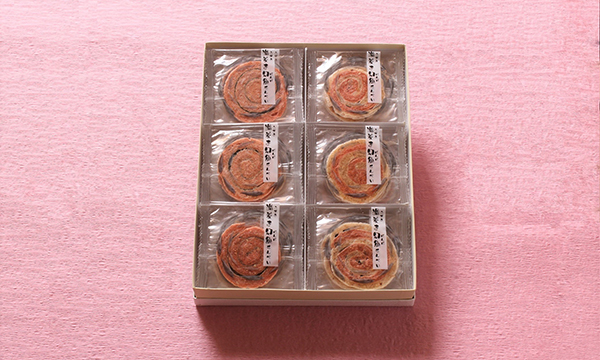 渦巻幻魚せんべい(ウズマキゲンゲ)の箱画像