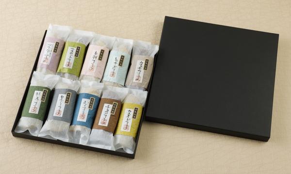 いろはに美味すずめ くらしき御菓子箱 四季づつみの箱画像