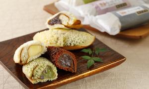いろはに美味すずめ くらしき御菓子箱 四季づつみ
