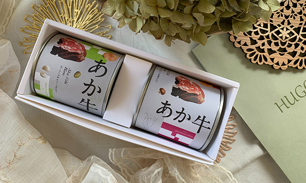 Aka-Ushi 【あか牛の紅白セット】の箱画像