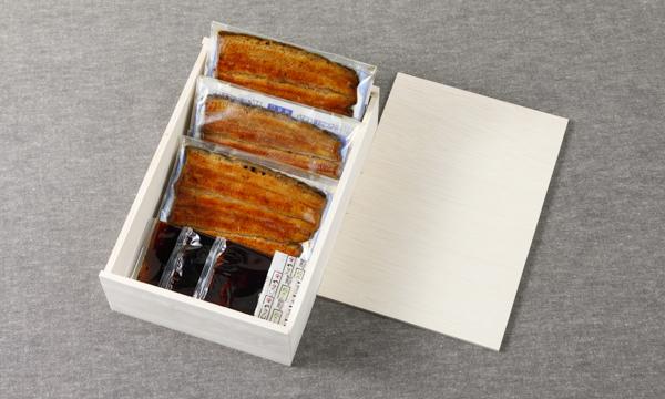 国産うなぎ蒲焼の箱画像
