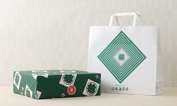 おつまみ海苔 5缶詰合せの紙袋画像