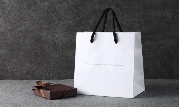 カルヴァドスの生チョコレートの紙袋画像