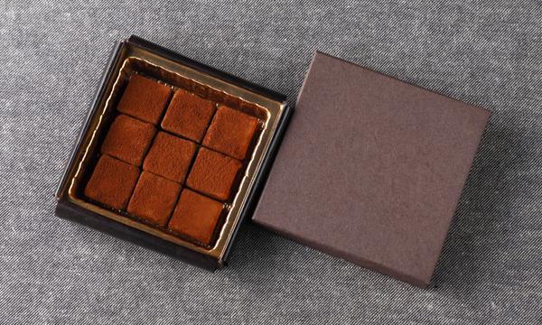 カルヴァドスの生チョコレートの箱画像