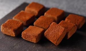 カルヴァドスの生チョコレート