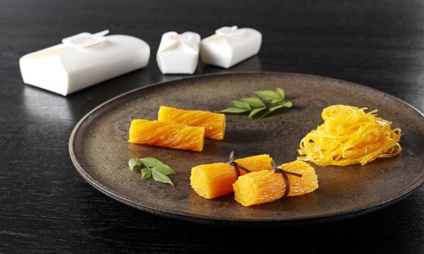 鶏卵素麺詰合せ(鶏卵素麺 1本入・鶏卵素麺 ひねり 6個入・鶏卵素麺 たばね 6個入)の内容画像