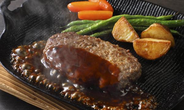 黒毛和牛ハンバーグ ソース付きの内容画像