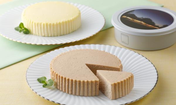 チーズケーキプレーン・イチゴ詰合せ KX-30