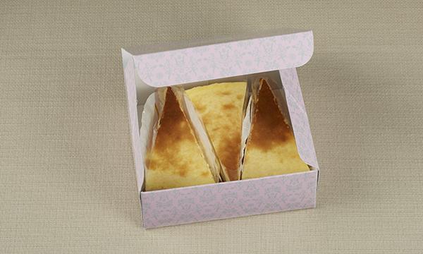 白トリュフチーズケーキの箱画像