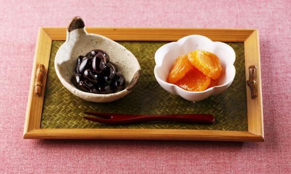 杏子とぶどう豆の詰め合わせセットの内容画像
