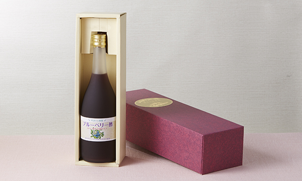 ブルーベリー酢の箱画像