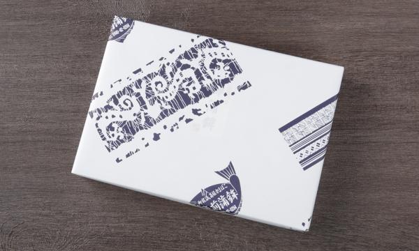 押し蒲 三本セット(炙り鯖×2・天然真鯛×1)の包装画像