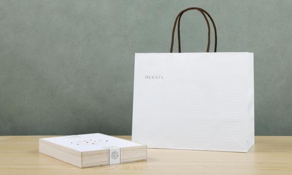 ビーンズショコラ桐箱セット【相】の紙袋画像