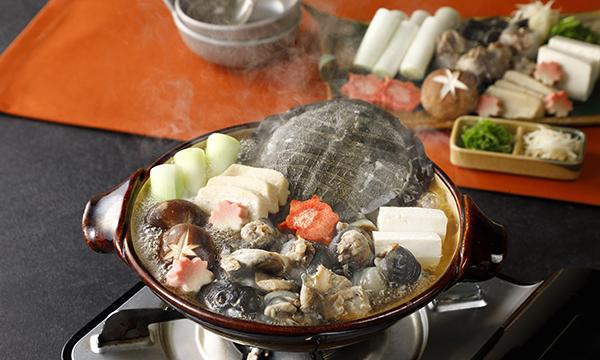 甲羅付 すっぽん鍋セットの内容画像