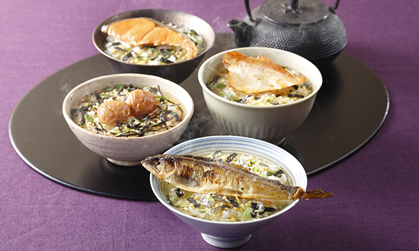 銀座割烹里仙監修 出汁茶漬けセット(6食入り)の内容画像