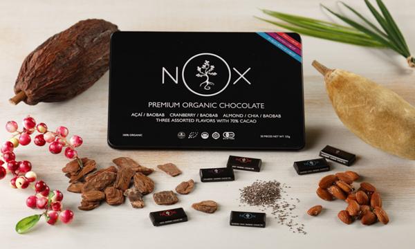 NOXプレミアムオーガニックチョコレート  Mixed Editionの内容画像