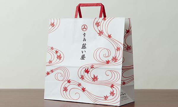 淡雪花の紙袋画像