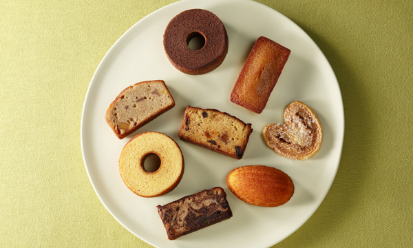 焼菓子ギフト 8種 15個入の内容画像