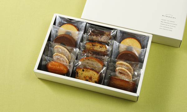焼菓子ギフト 8種 15個入の箱画像