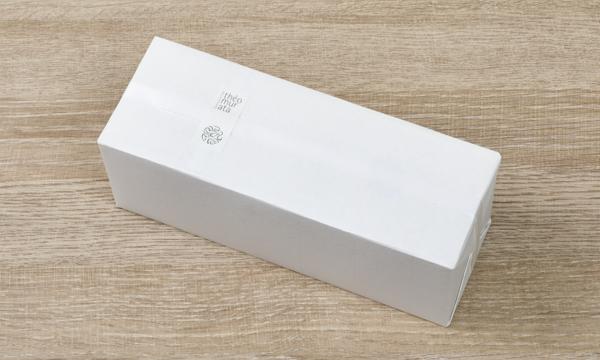 茶葉ショコラ桐箱セットの包装画像