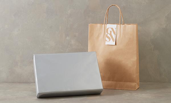 一度食べると止まらない!と人気の「甘くて辛い、スパイシーナッツ」 GIFT BOX。の紙袋画像