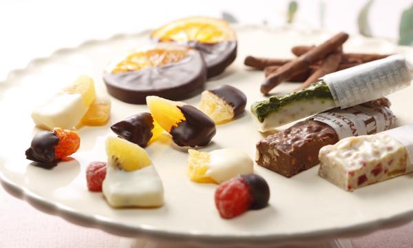 チョコレートアソート 4種の内容画像