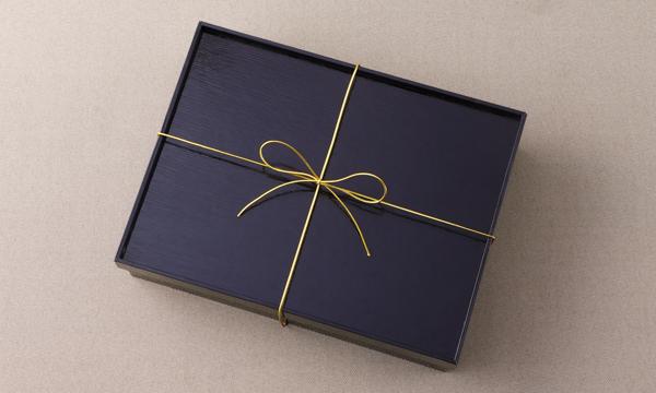 特選鯖の味噌煮と自家製味噌のプレミアム詰め合わせの包装画像