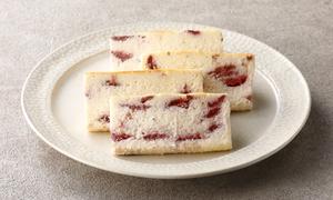 濃厚な苺チーズケーキ