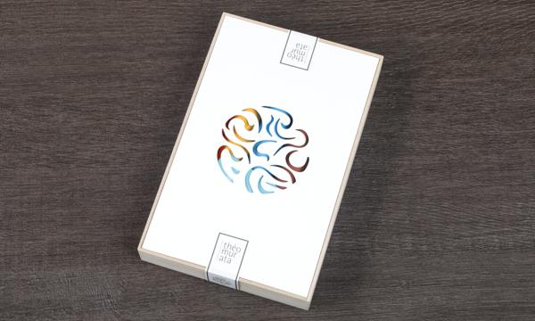 ビーンズショコラ5本桐箱セットの包装画像
