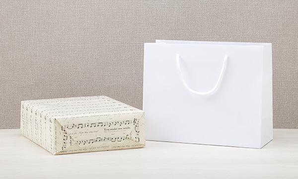糸島からのおくりものの紙袋画像