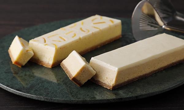 チーズケーキ2種桐箱セットの内容画像