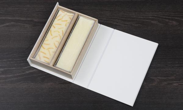 チーズケーキ2種桐箱セットの箱画像